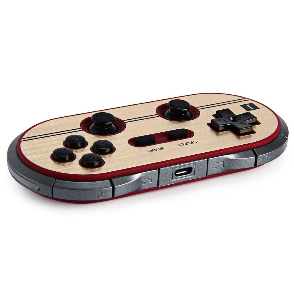 8Bitdo FC30 Pro Wireless Bluetooth Gamepad Game Controller for Switch Android PC Mac Linux - 3