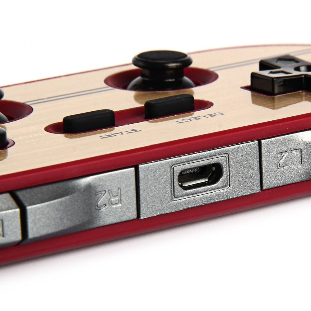 8Bitdo FC30 Pro Wireless Bluetooth Gamepad Game Controller for Switch Android PC Mac Linux - 6