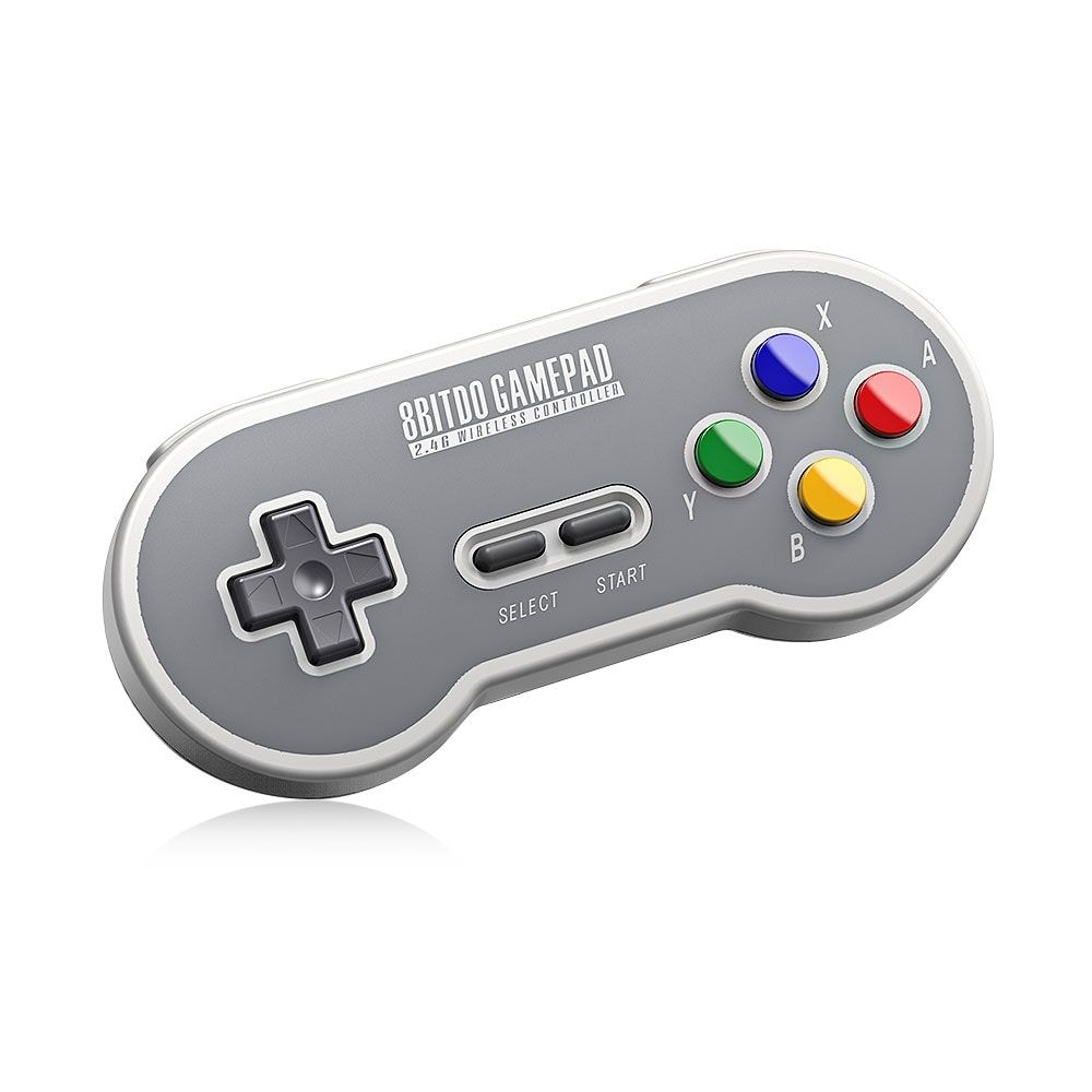 8Bitdo SF30 Wireless Controller with 2.4G NES Receiver Classic Joystick Gamepad for Android PC Mac - 1