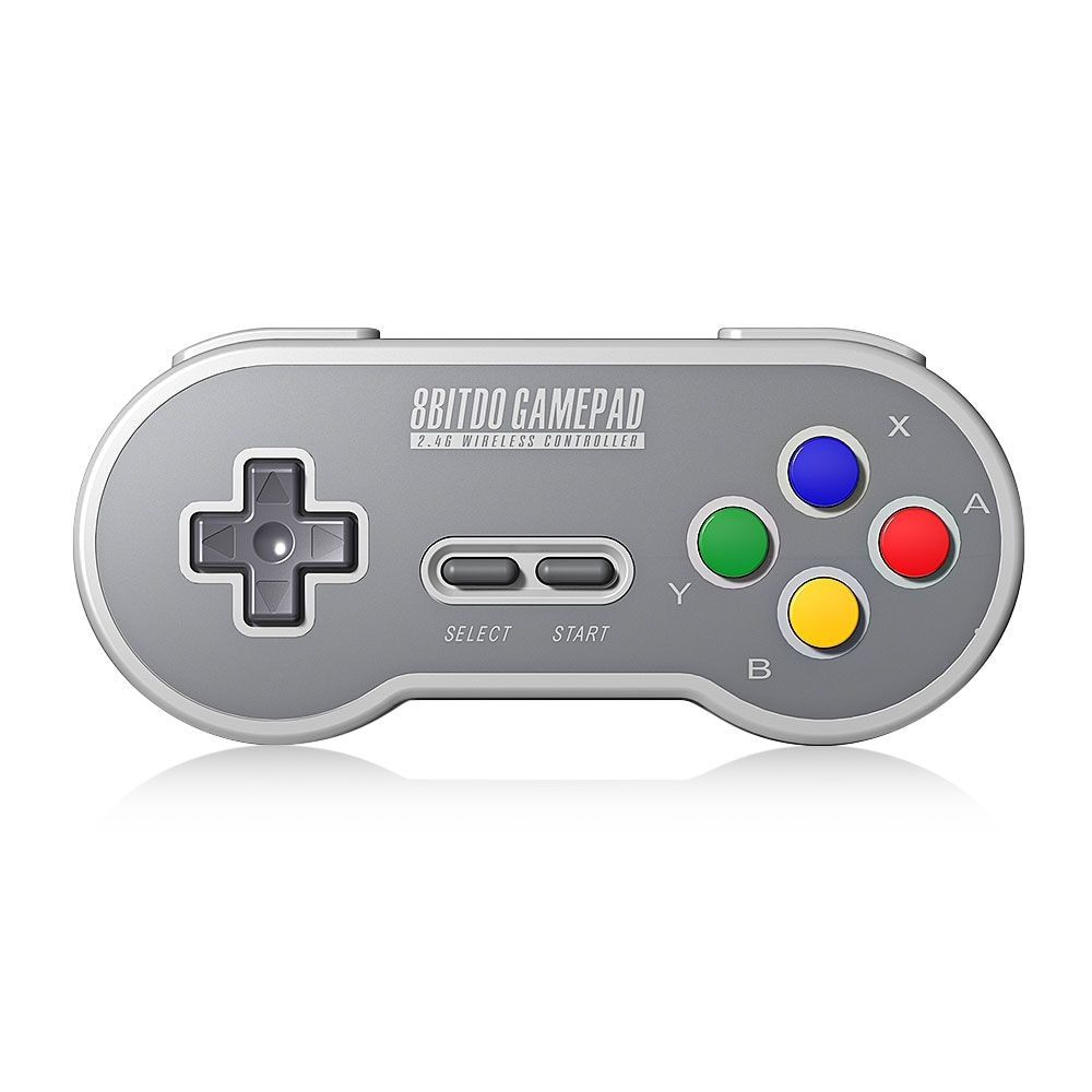 8Bitdo SF30 Wireless Controller with 2.4G NES Receiver Classic Joystick Gamepad for Android PC Mac - 2