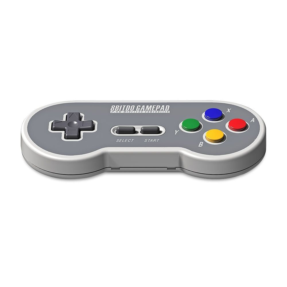8Bitdo SF30 Wireless Controller with 2.4G NES Receiver Classic Joystick Gamepad for Android PC Mac - 3