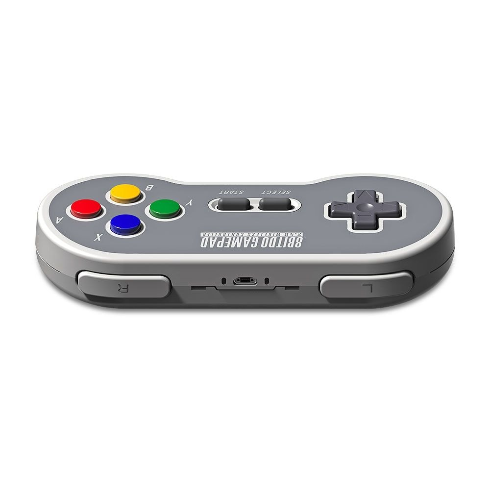 8Bitdo SF30 Wireless Controller with 2.4G NES Receiver Classic Joystick Gamepad for Android PC Mac - 4