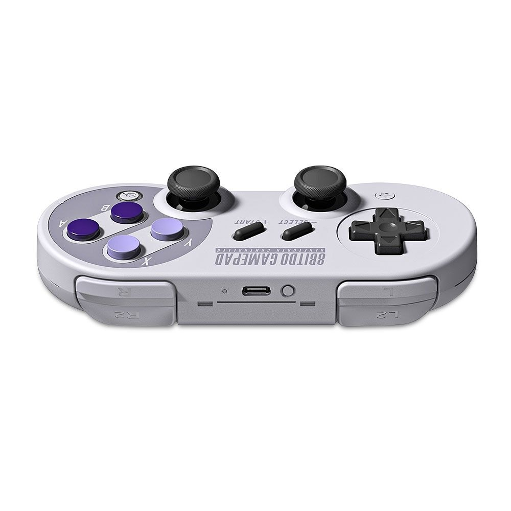 8Bitdo SN30 Pro Wireless Bluetooth Controller with Classic Joystick Gamepad for Android/Switch/Windows - 4