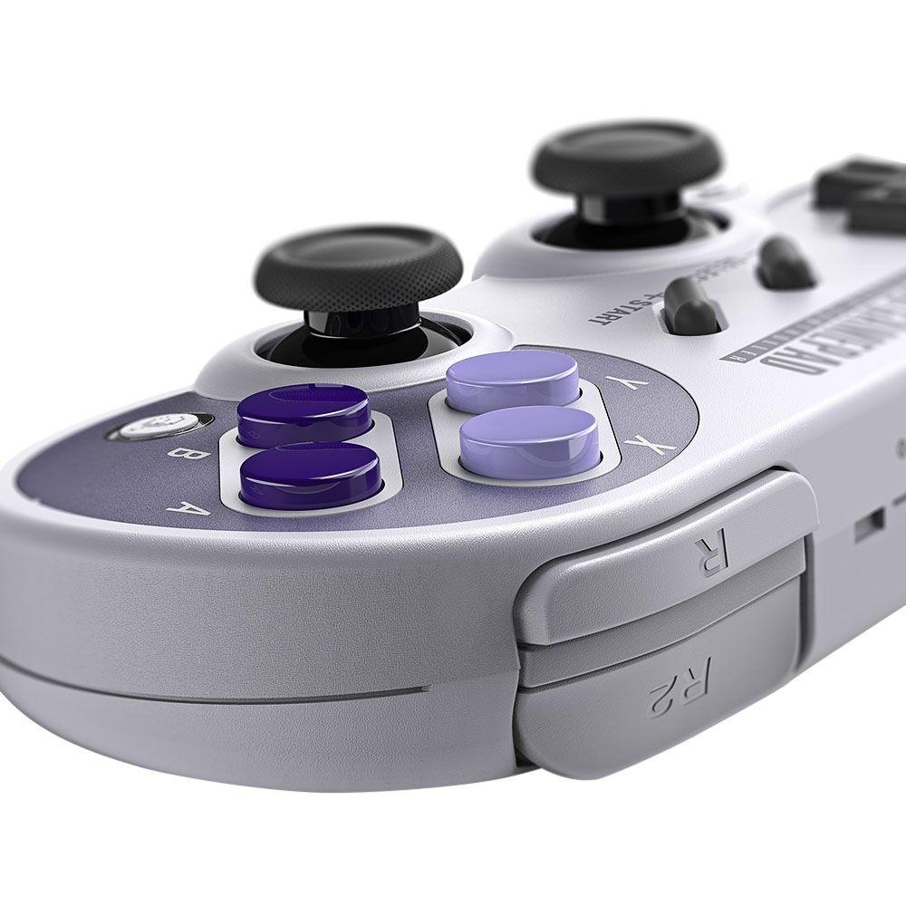 8Bitdo SN30 Pro Wireless Bluetooth Controller with Classic Joystick Gamepad for Android/Switch/Windows - 7