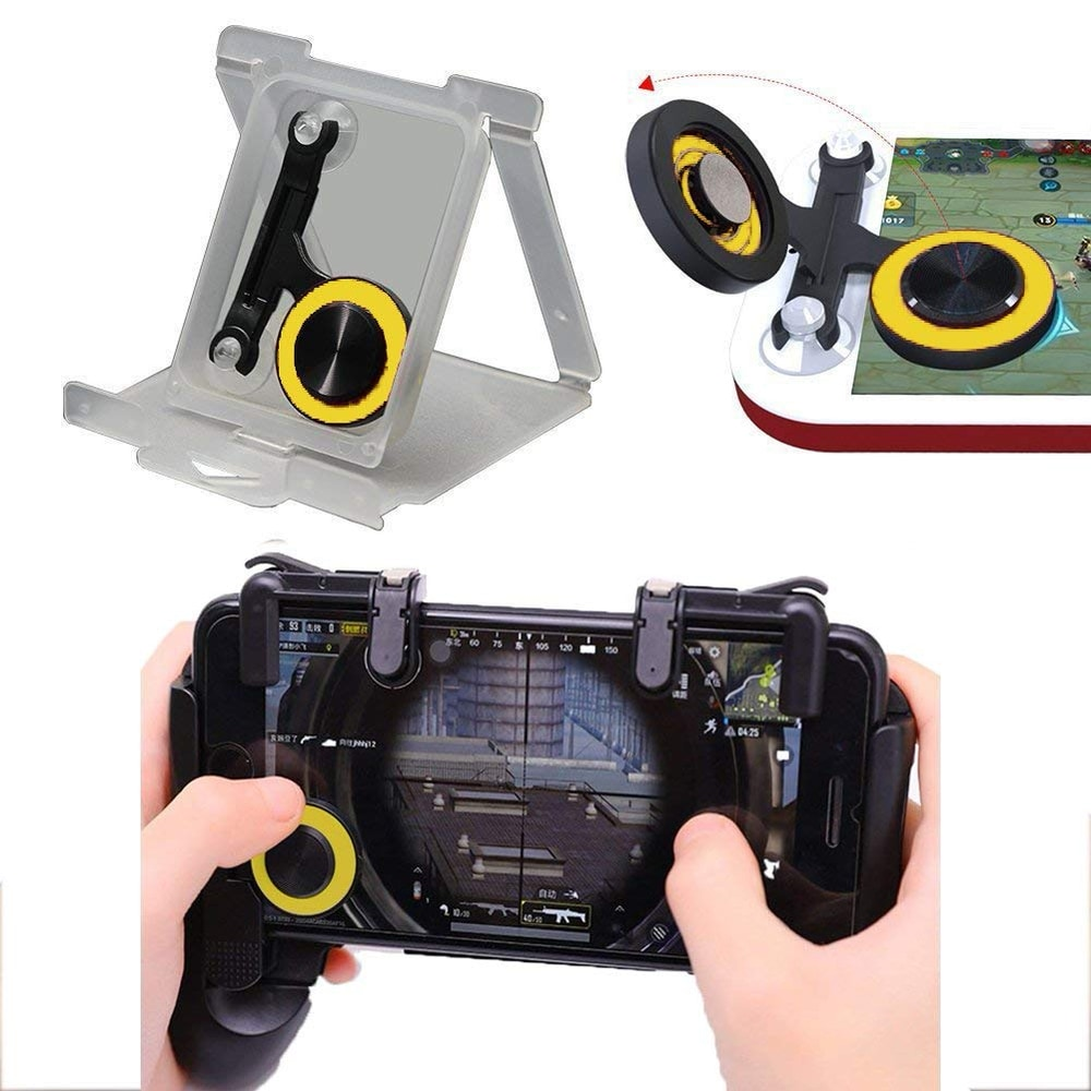 Accreate Gamepad for Knives Out PUBG Mobile Phone Shoot Game Controller L1R1 Shooter Trigger Fire Button 3 - 4