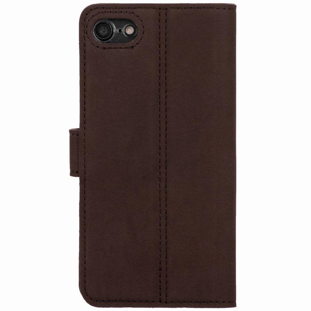 Apple iPhone 7 Plus- Surazo® Phone Case Genuine Leather- Nubuck Brown - 3
