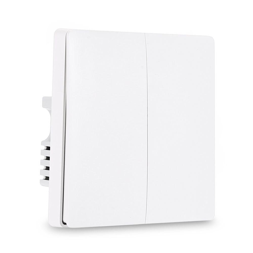 Aqara QBKG03LM Wall Switch Smart Light Control ZigBee Version ( Xiaomi Ecosystem Product ) DOUBLE KEY - 1