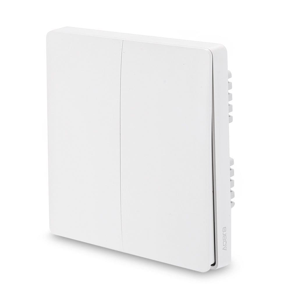 Aqara QBKG03LM Wall Switch Smart Light Control ZigBee Version ( Xiaomi Ecosystem Product ) DOUBLE KEY - 3