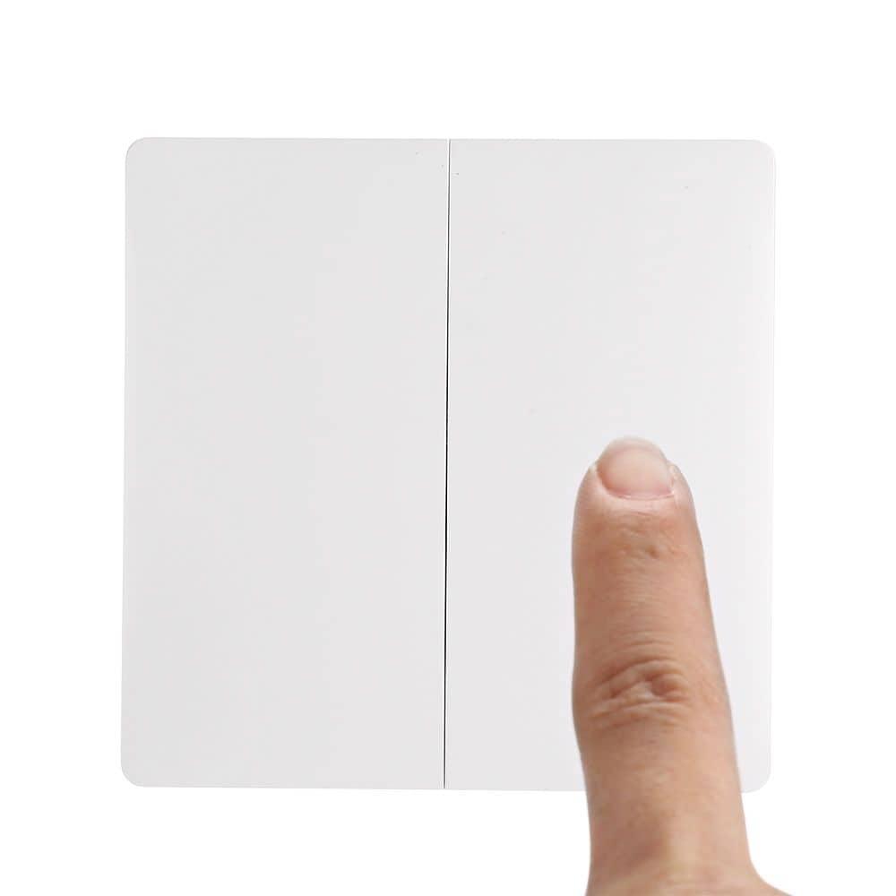 Aqara QBKG03LM Wall Switch Smart Light Control ZigBee Version ( Xiaomi Ecosystem Product ) DOUBLE KEY - 6