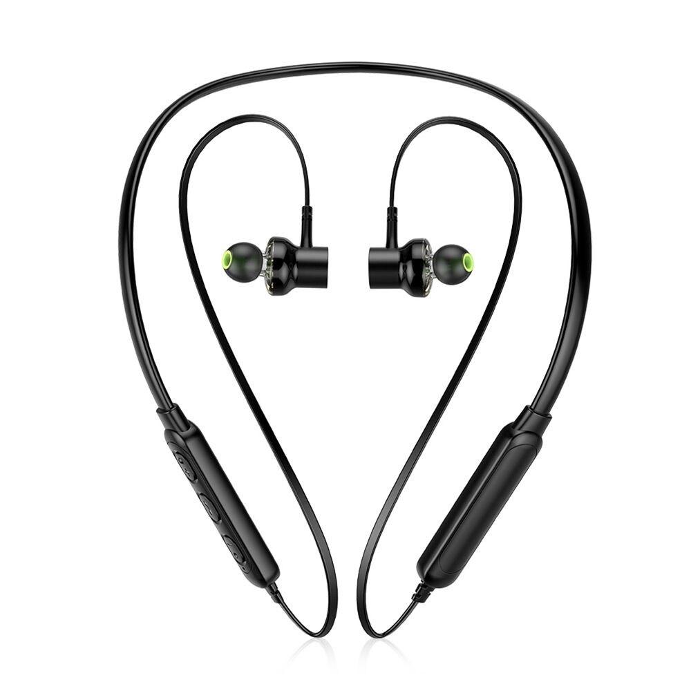 Awei G20BL Dual Drivers Wireless Bluetooth Headphones Neckband Sport Earbuds - 4
