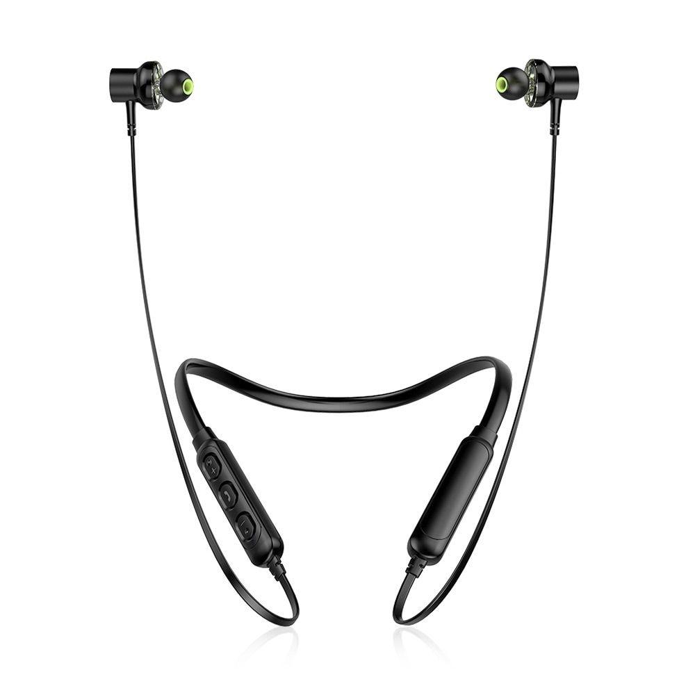 Awei G20BL Dual Drivers Wireless Bluetooth Headphones Neckband Sport Earbuds - 5
