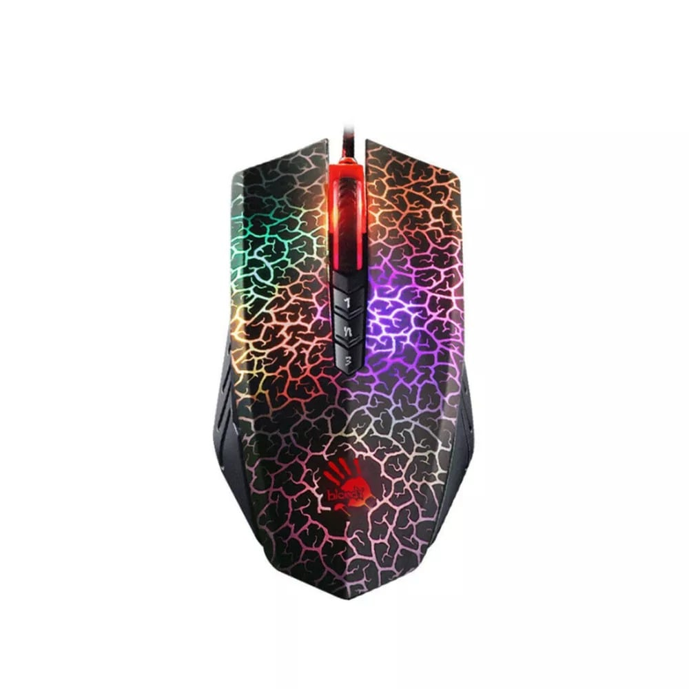 Bloody A70 4000DPI USB Optical Gaming Mouse Multi-Color - 5