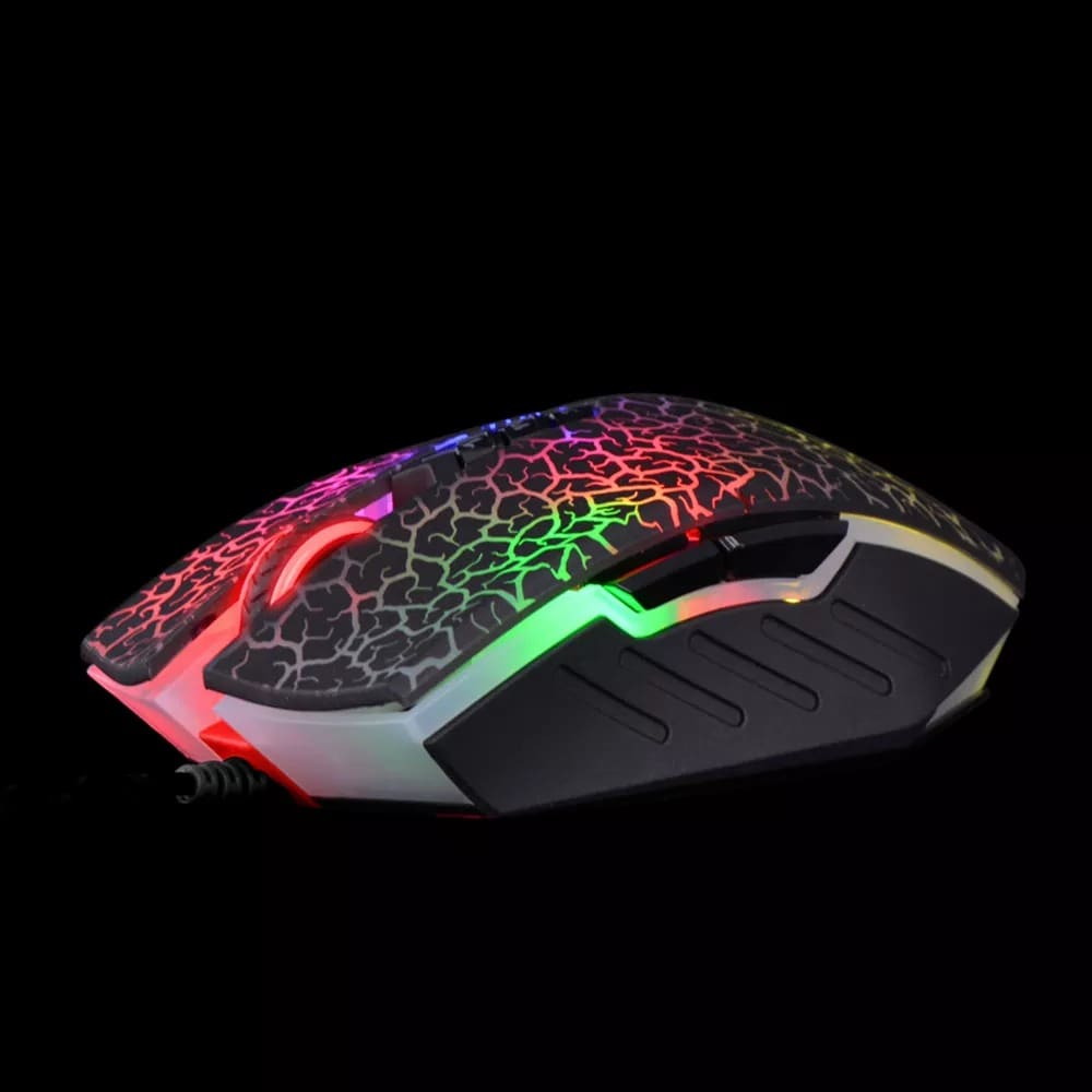 Bloody A70 4000DPI USB Optical Gaming Mouse Multi-Color - 3