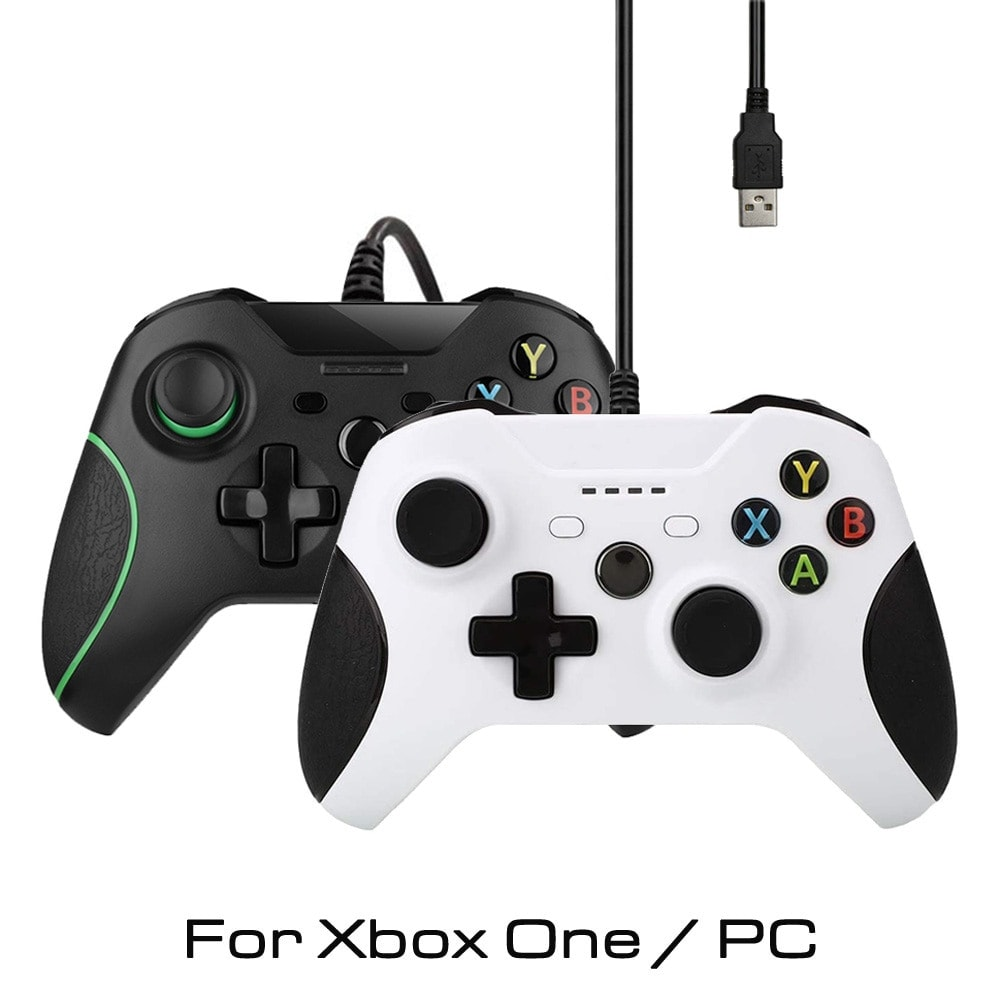 Controller for Xbox One, Xbox One Slim and PC Windows White - 1