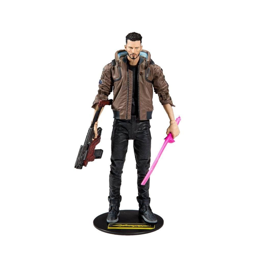 Cyberpunk 2077 Action Figure Male V 18 cm - 1
