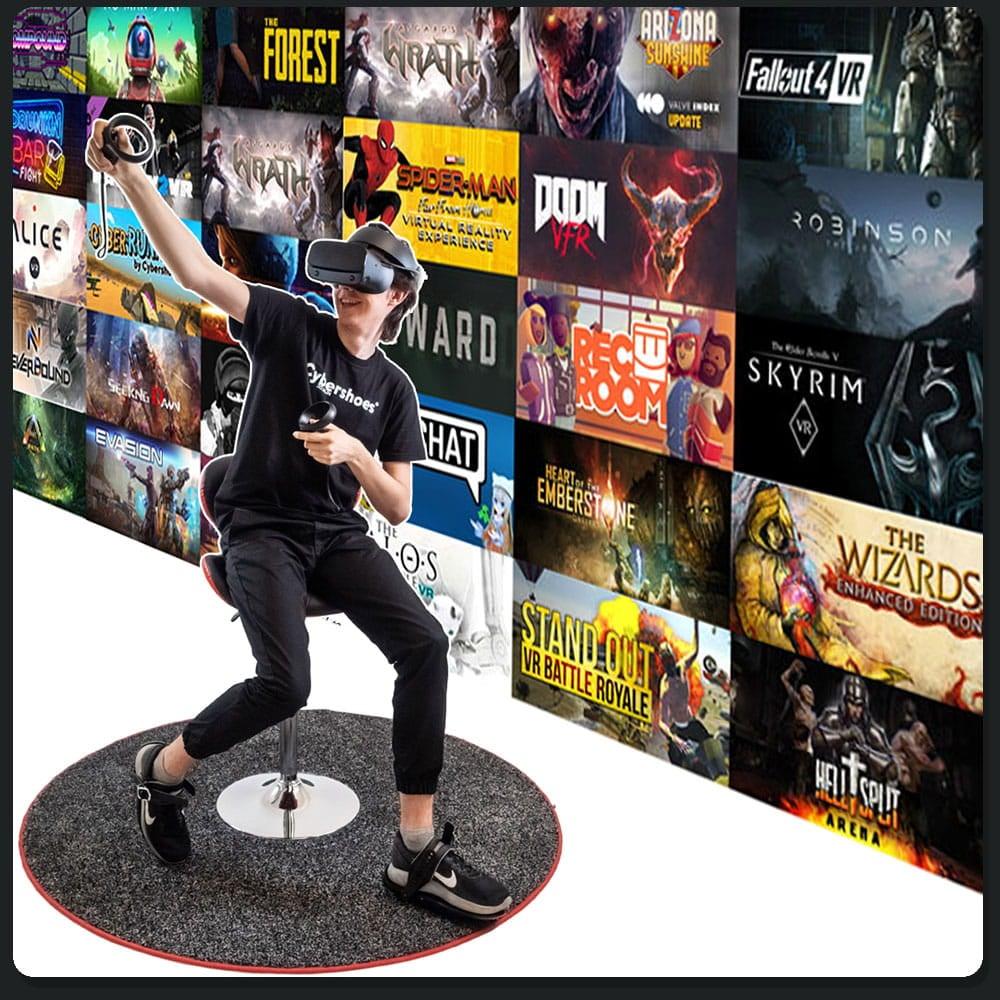 Cybershoes buty do wirtualnej rzeczywistości - 6