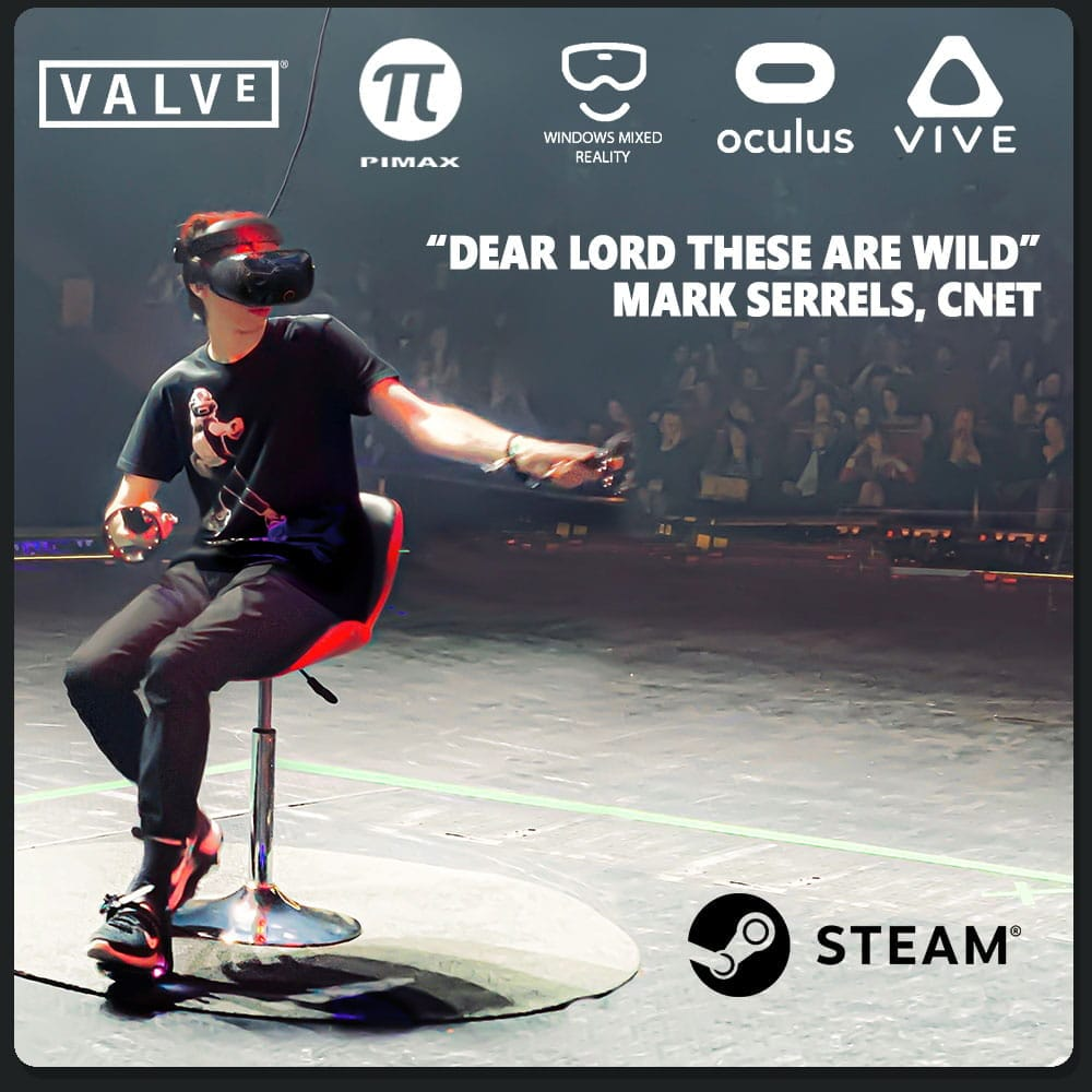 Cybershoes Gaming Station buty do VR - 8