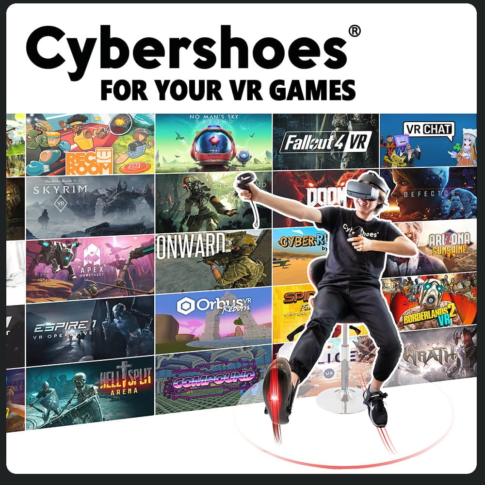 Cybershoes Gaming Station buty do VR - 7