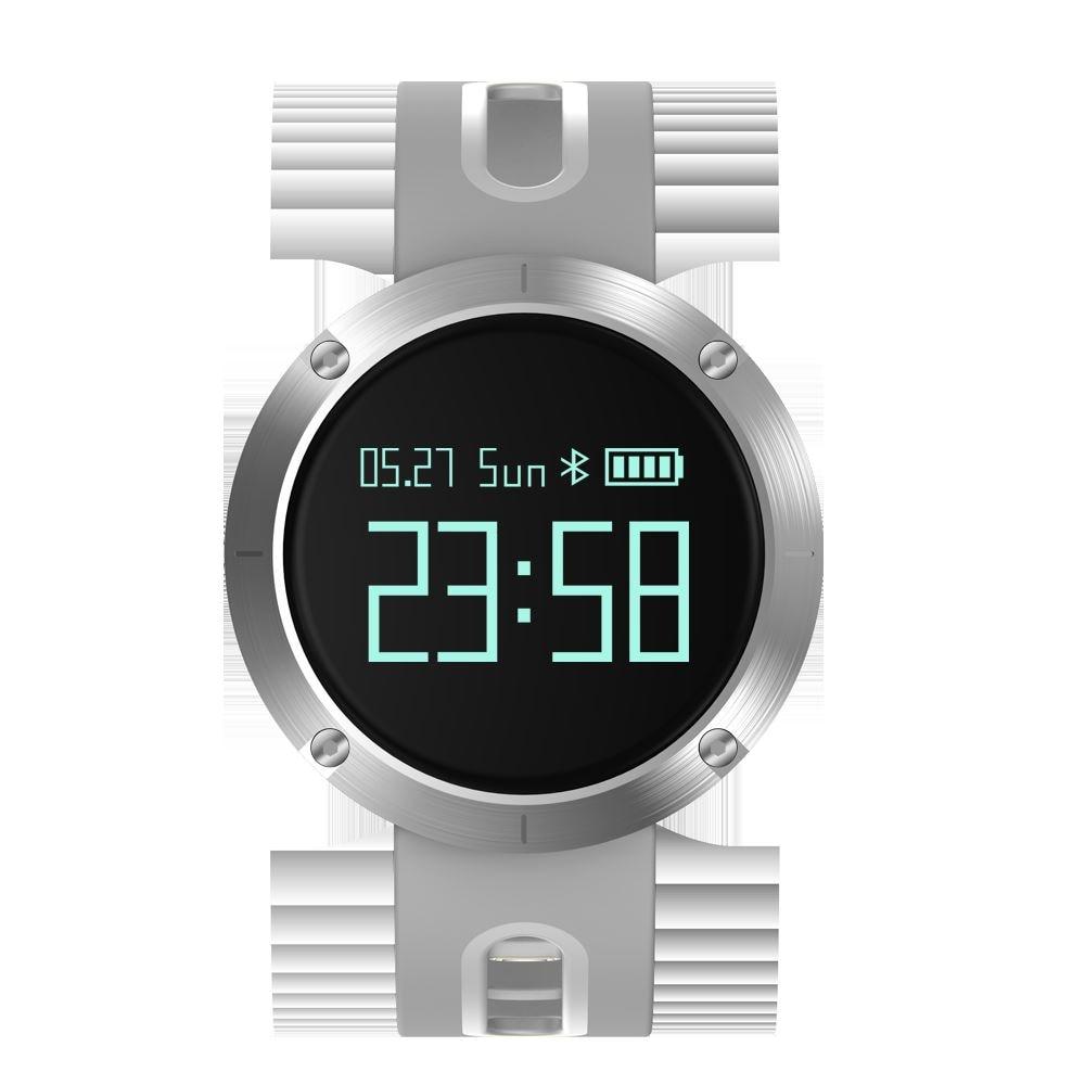 DOMINO DM58 0.95 Inch Round Display Screen Smart Bracelet Heart Rate Monitor Sport Wristband Fitness Tracker Black - 3
