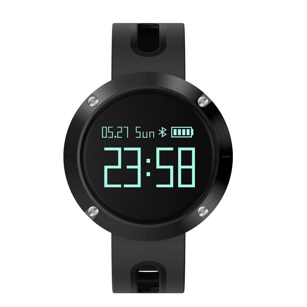 DOMINO DM58 0.95 Inch Round Display Screen Smart Bracelet Heart Rate Monitor Sport Wristband Fitness Tracker Black - 4