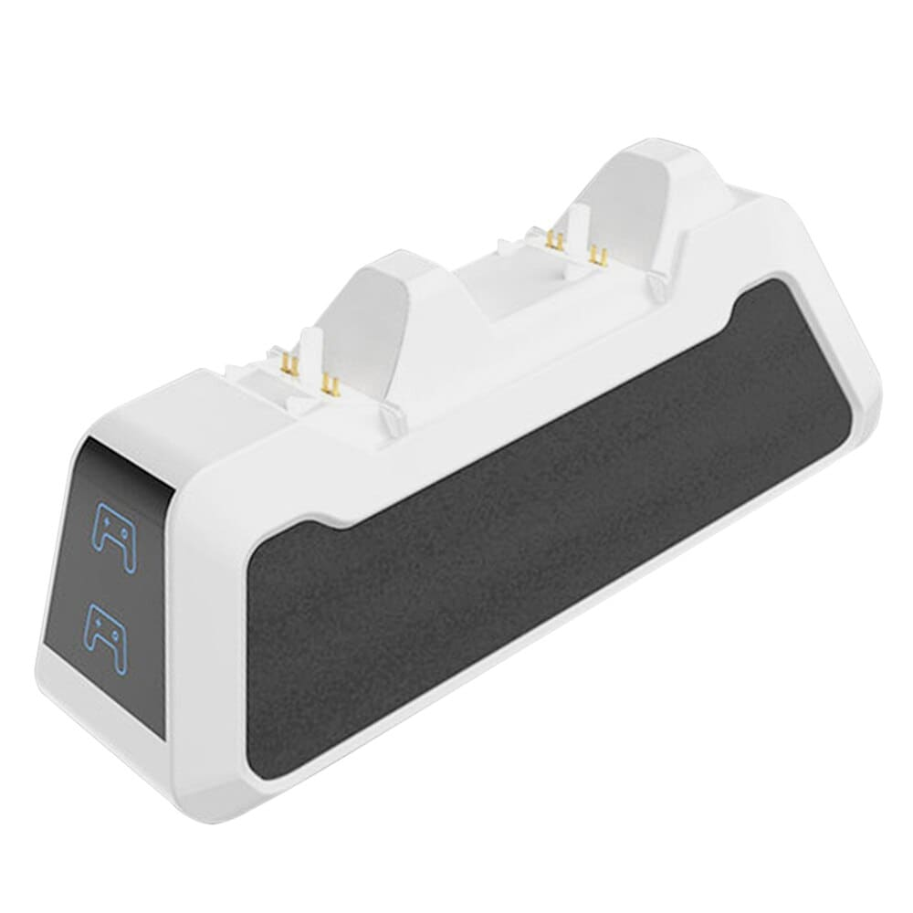 Dual Fast Charging Station for PlayStation 5 controllers USB 3.1 / Type-C White - 2
