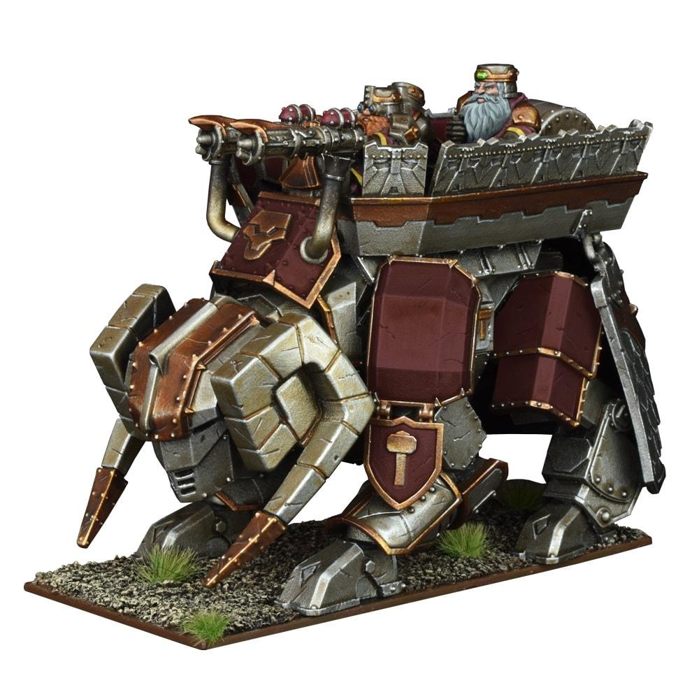 Dwarf Steel Behemoth Kings of War 28mm - 1