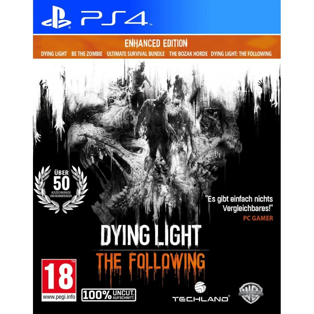 Dying Light: The Following - Enhanced Edition PS4 (Hauptspiel + AddOn + 3 Bonus-DLCs) (AT PEGI) (deutsch) [unc - 1
