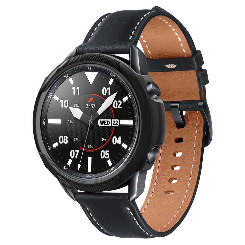 Etui Spigen Liquid Air Samsung Galaxy Watch 3 45mm Matte Black - 1