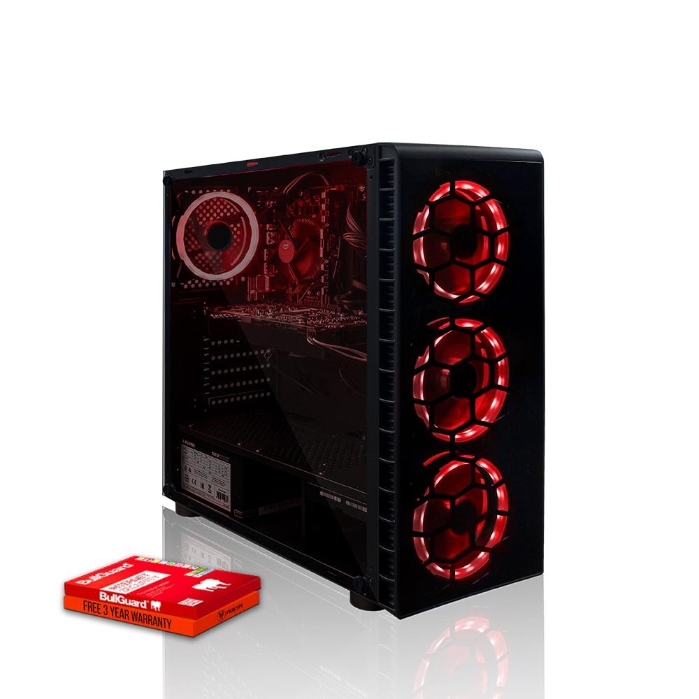 Fierce Apex Gaming PC, Fast Intel Core i7 8700 4.6GHz, 1TB HDD, 8GB RAM, RTX 2070 Super 8GB - 1