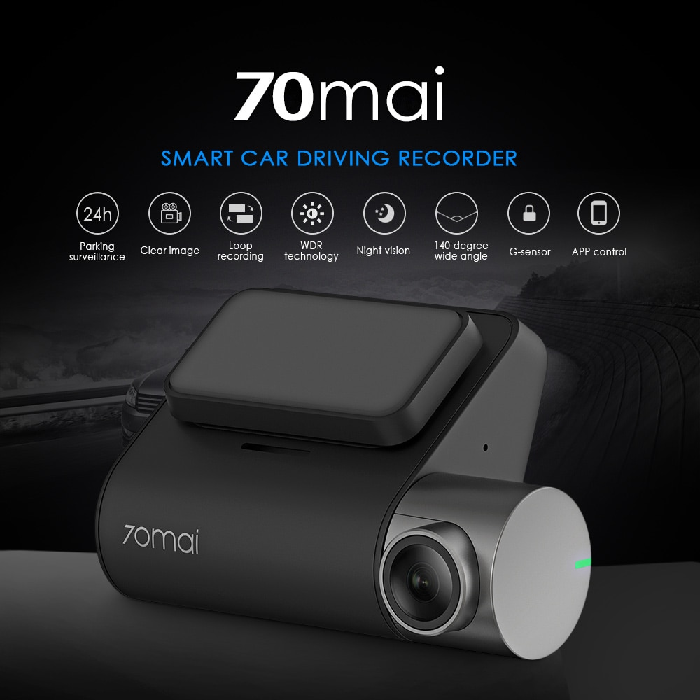Full HD Car Driving Recorder 24h Surveillance Superior Night Vision - 1