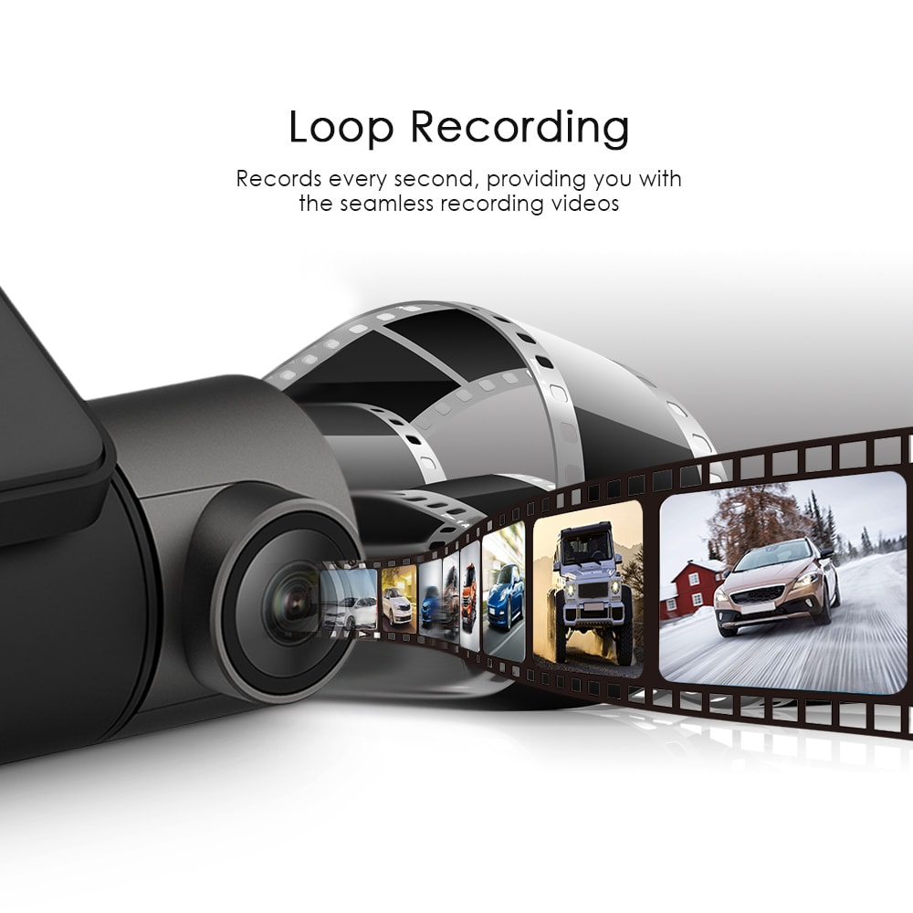 Full HD Car Driving Recorder 24h Surveillance Superior Night Vision - 5