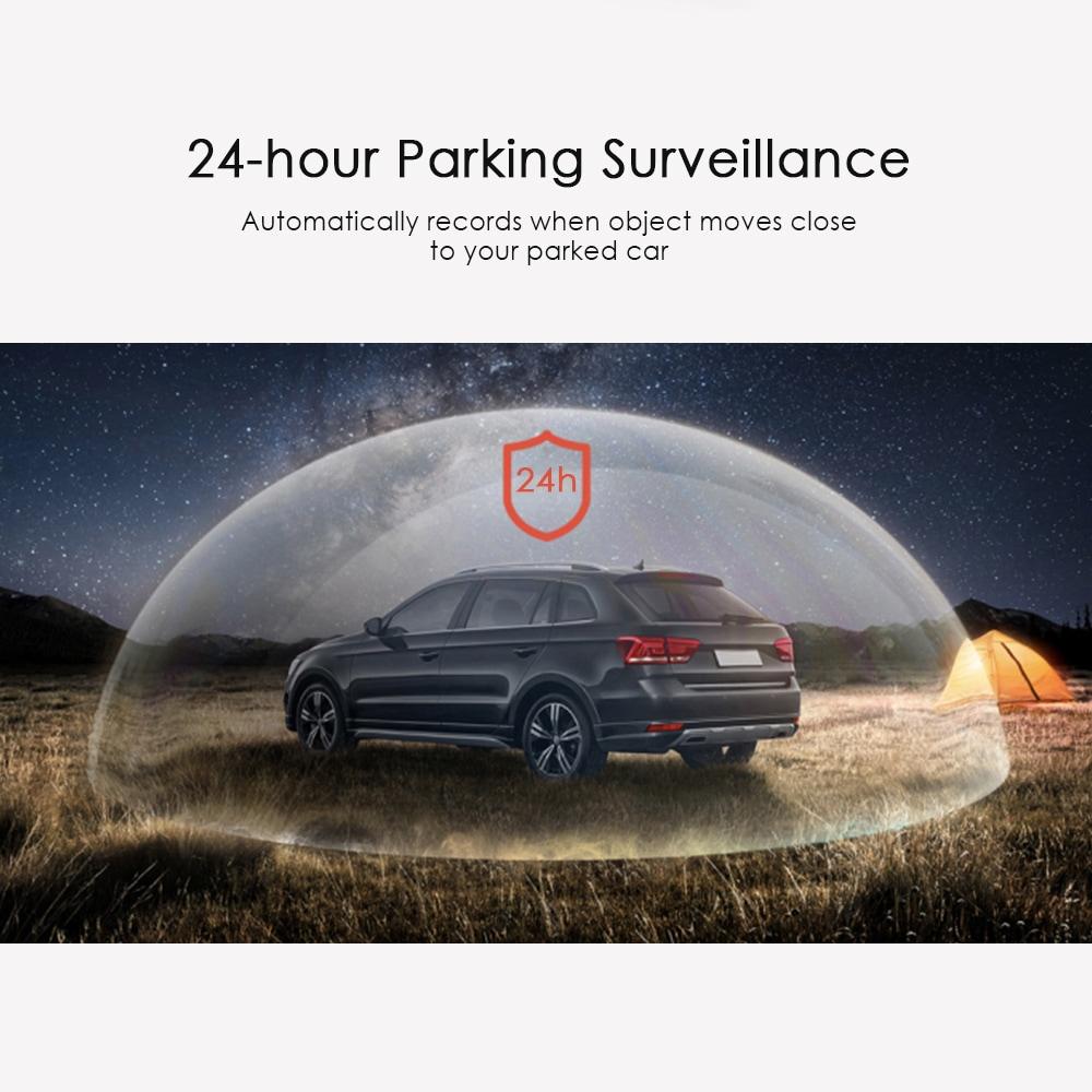 Full HD Car Driving Recorder 24h Surveillance Superior Night Vision - 2