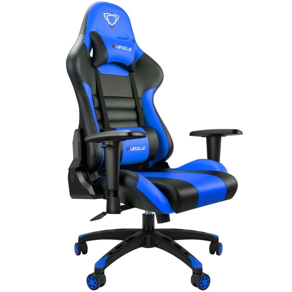 FURGLE ADJUSTABLE GAMING CHAIR Gaming Chair Black & blue Gaming - 1