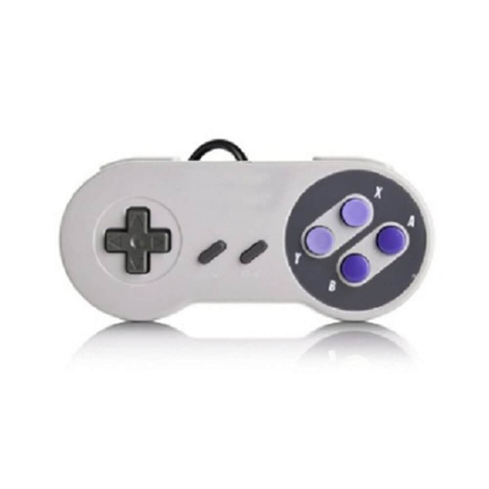 Gaming Controller for Windows PC, MAC Computer and Nintendo SNES Space Gray - 1