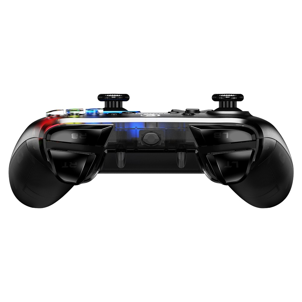 Gaming Controller with Vibration and Turbo Joystick Function for PC/Laptop Black - 5