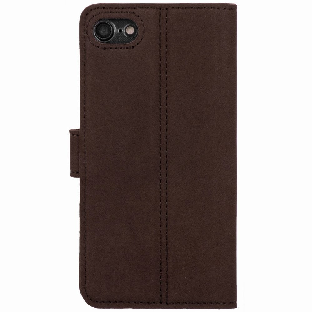 Google Pixel 3 XL- Surazo® Phone Case Genuine Leather- Nubuck Brown - 3