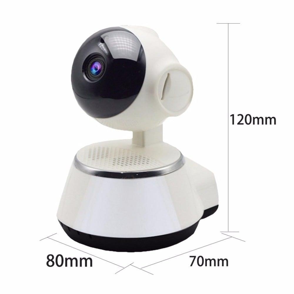 HD 720P Mini IP Camera Wifi Camera Wireless P2P Security Camera Night Vision Baby Monitor UK Plug - 1
