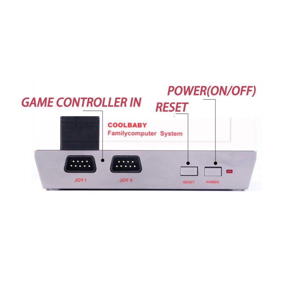 HDMI NES Mini Classic Edition Retro Video Games Console with 2 Controllers Built-in 600 Classic Nintendo Games - 8