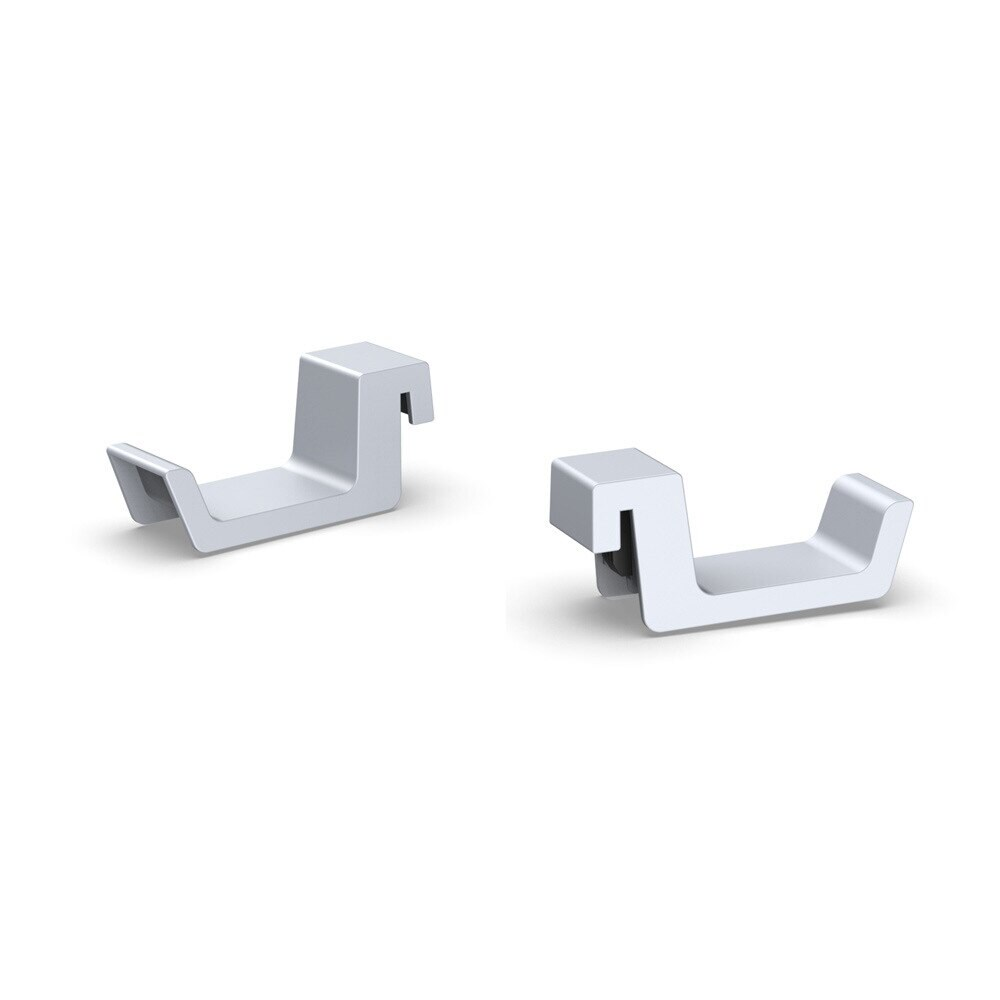 Headset Rack Holder for PlayStation5 with Gift 2 Controller Grips White - 5