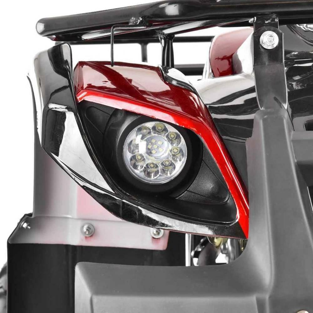 Hecht 56125 Red Quad Akumulatorowy Samochód Terenowy Auto Jeździk Pojazd - 3
