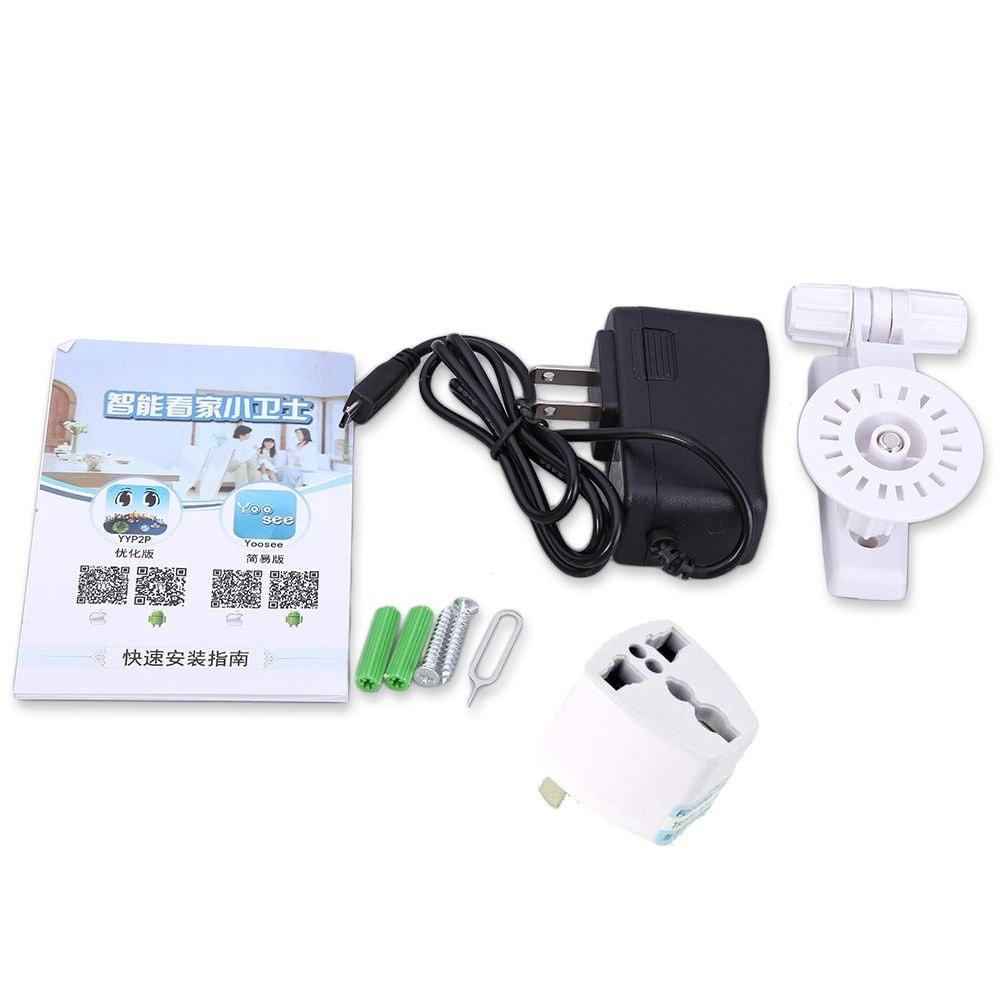 Hiseeu HSY-FH2 Indoor 720P Wireless IP Cam IR-Cut Night Vision Mini Rotatable Smart Security UK PLUG - 7