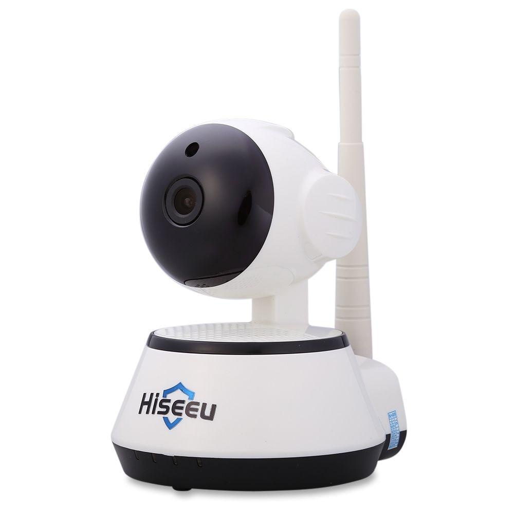Hiseeu HSY-FH2 Indoor 720P Wireless IP Cam IR-Cut Night Vision Mini Rotatable Smart Security US PLUG - 1