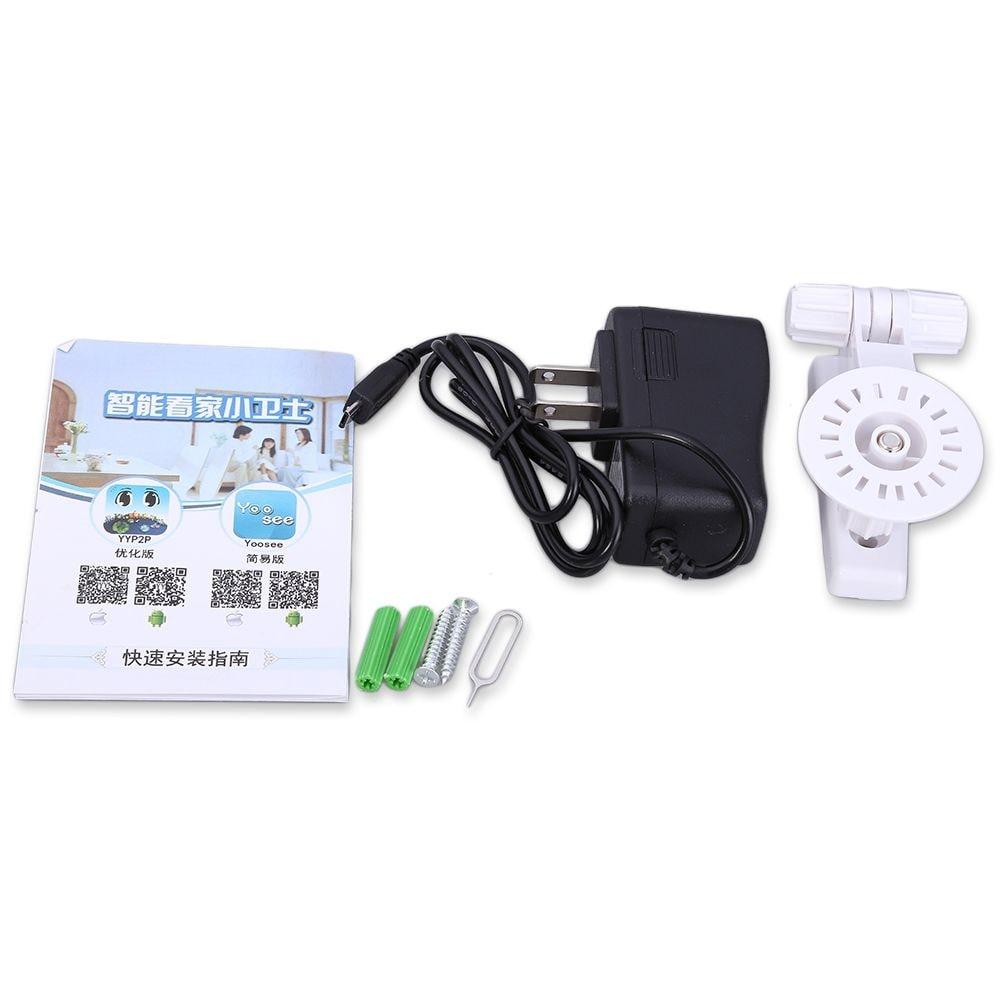 Hiseeu HSY-FH2 Indoor 720P Wireless IP Cam IR-Cut Night Vision Mini Rotatable Smart Security US PLUG - 7