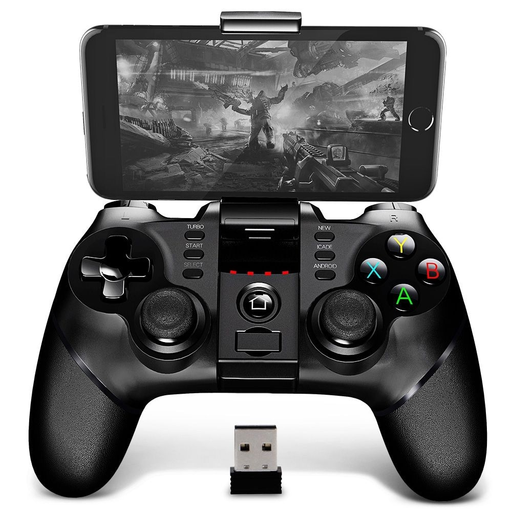 iPega PG - 9076 Bluetooth Gamepad with Bracket 2.4G Wireless Receiver - 1