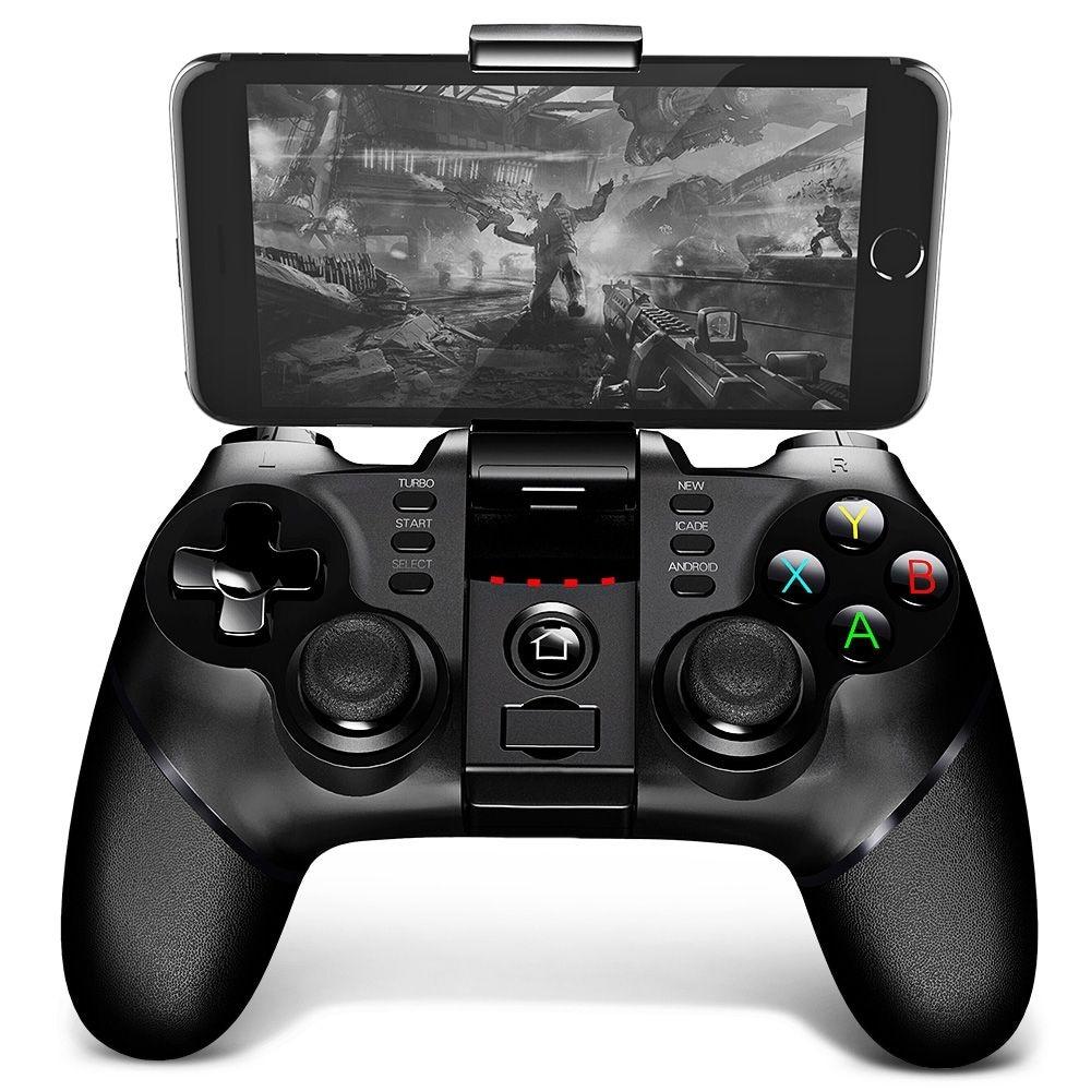 iPega PG - 9076 Bluetooth Gamepad with Bracket 2.4G Wireless Receiver - 2