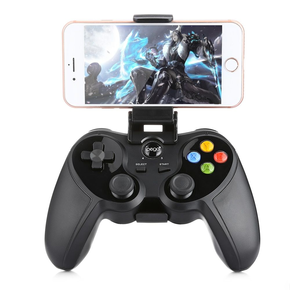 ipega PG - 9078 Universal Wireless Bluetooth Game Controller with Bracket for Android / iOS / PC - 1
