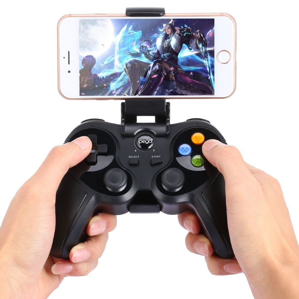 ipega PG - 9078 Universal Wireless Bluetooth Game Controller with Bracket for Android / iOS / PC - 5