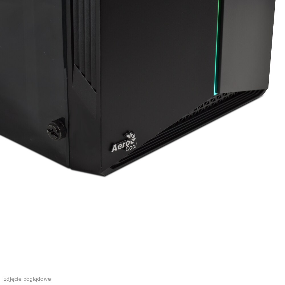 KOMPUTER DO GIER NTT GAME S - I3-10105F, GT 1030 2GB, 8GB RAM, 512GB SSD, W10 Black - 3