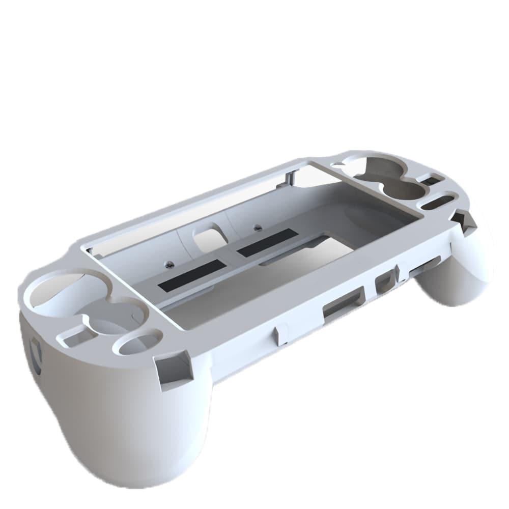 L3 R3 Trigger Button & L2 R2 Handle Grip Case Holder White for PS Vita PSV 1000 - 2