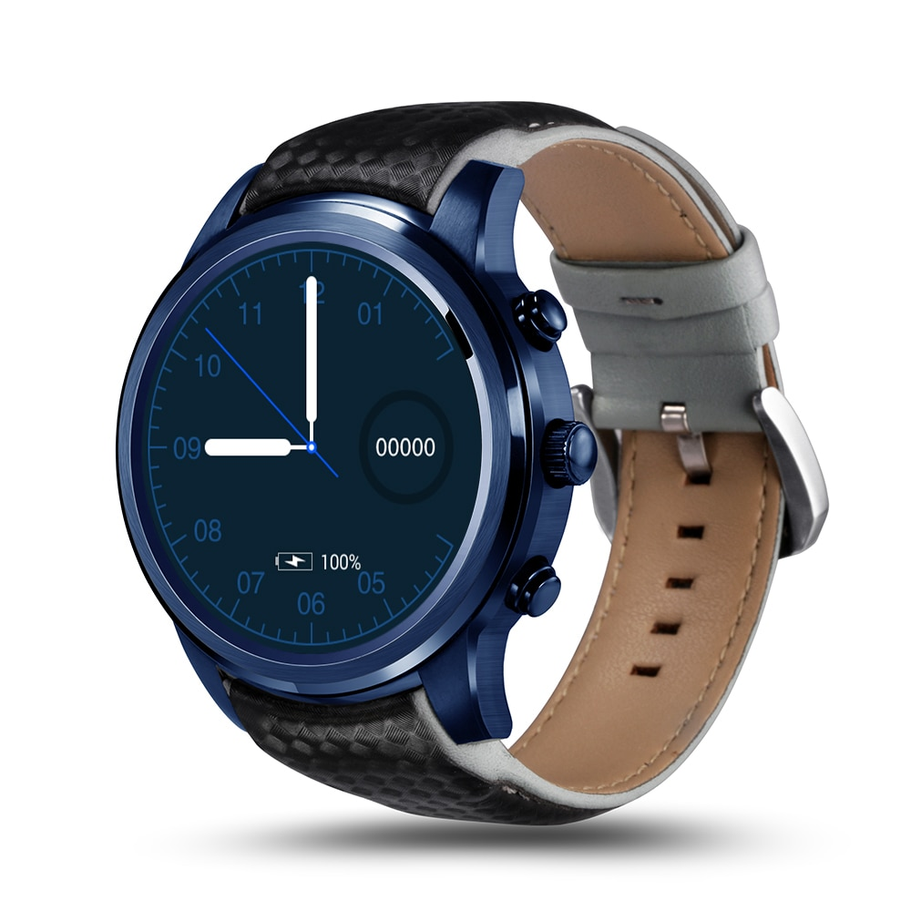 LEMFO LEM5 PRO Watch Phone-1 IMEI, 3G, WiFi, Music, Pedometer, Heart Rate, Android OS - 1